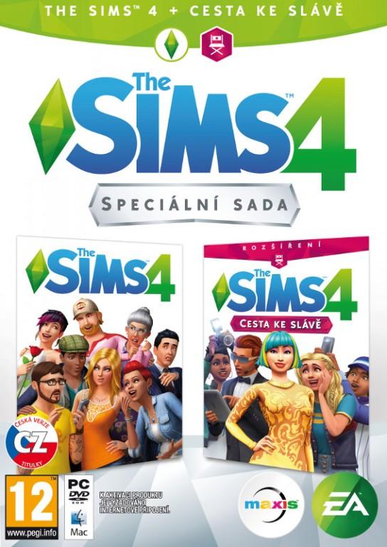 The Sims 4 + rozšíření Cesta ke slávě (PC)