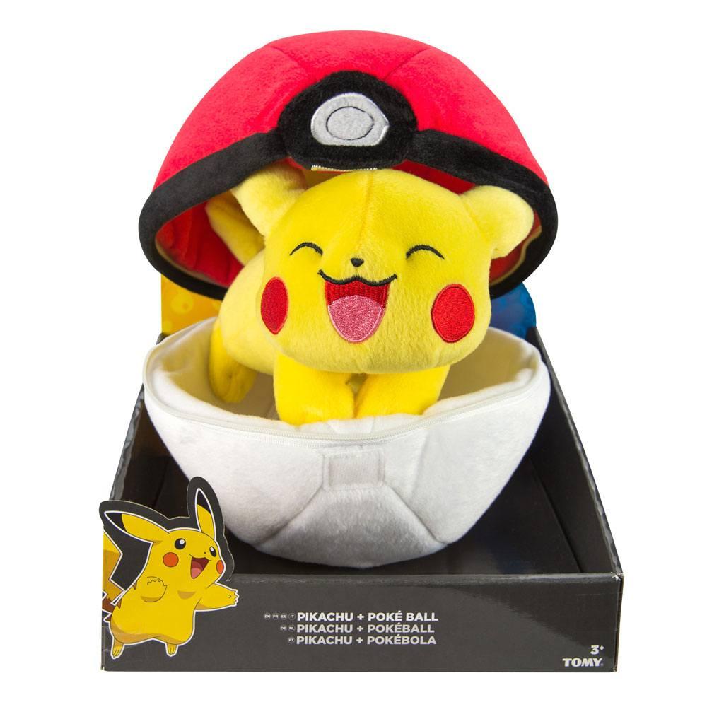 Plyšák Pokémon - Pikachu a Poké Ball (PC)