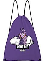 Vak na záda Fortnite - Loot Me (fialový)
