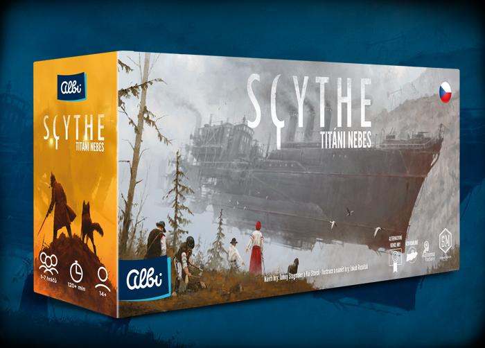 Desková hra Scythe - Titání nebes (PC)