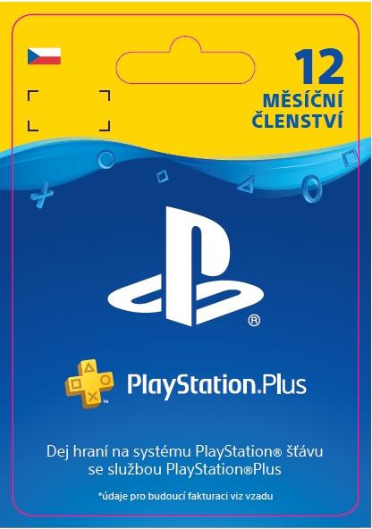 PlayStation Plus - členství na 12 měsíců - 20% sleva (PS4 DIGITAL)