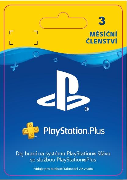 PlayStation Plus - členství na 3 měsíc - 15% sleva (PS4 DIGITAL)