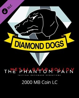 Metal Gear Solid V The Phantom Pain 2000 MB Coin LC (PC DIGITAL)