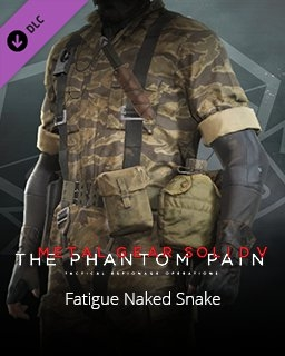 Metal Gear Solid V The Phantom Pain Fatigue Naked Snake (PC DIGITAL)