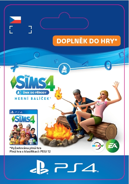 The Sims 4 - Únik do přirody (PS4 DIGITAL)