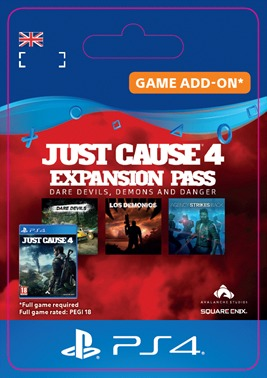 Just Cause 4 - Expansion Pass (PS4 DIGITAL) (PS4)