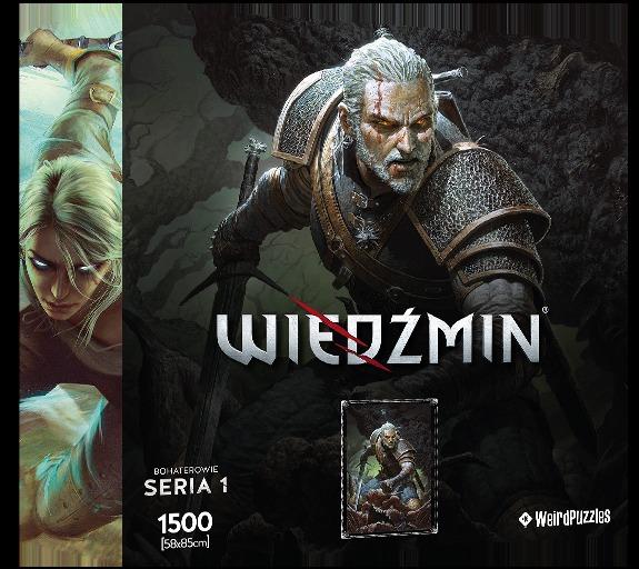 Puzzle Zaklínač - Geralt (Hrdinové Zaklínače) (PC)