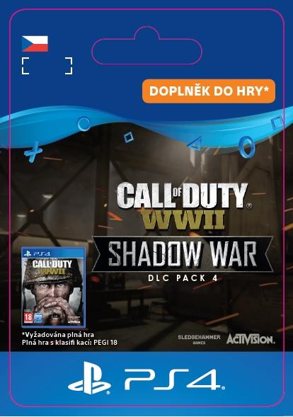 COD: WWII Shadow War: DLC Pack4 (PS4 DIGITAL) (PS4)