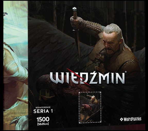 Puzzle Zaklínač - Vesemir (Hrdinové Zaklínače) (PC)