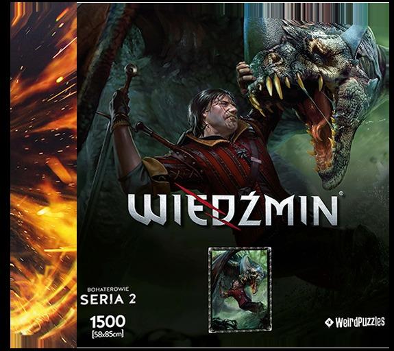 Puzzle Zaklínač - Eskel (Hrdinové Zaklínače)  (PC)