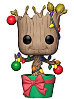 Figurka Guardians of the Galaxy - Holiday Groot with Lights & Ornaments