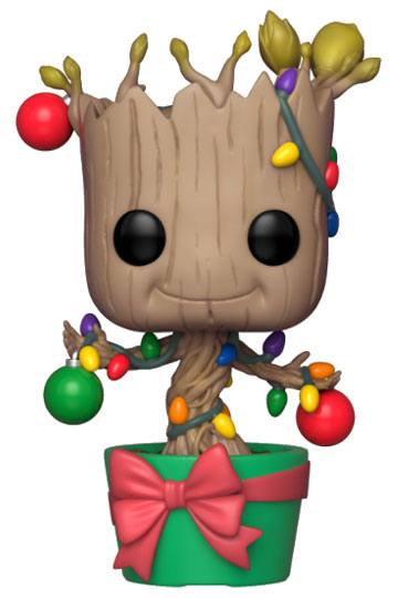 Figurka Guardians of the Galaxy - Holiday Groot with Lights & Ornaments (Funko POP! Marvel 399) (PC)
