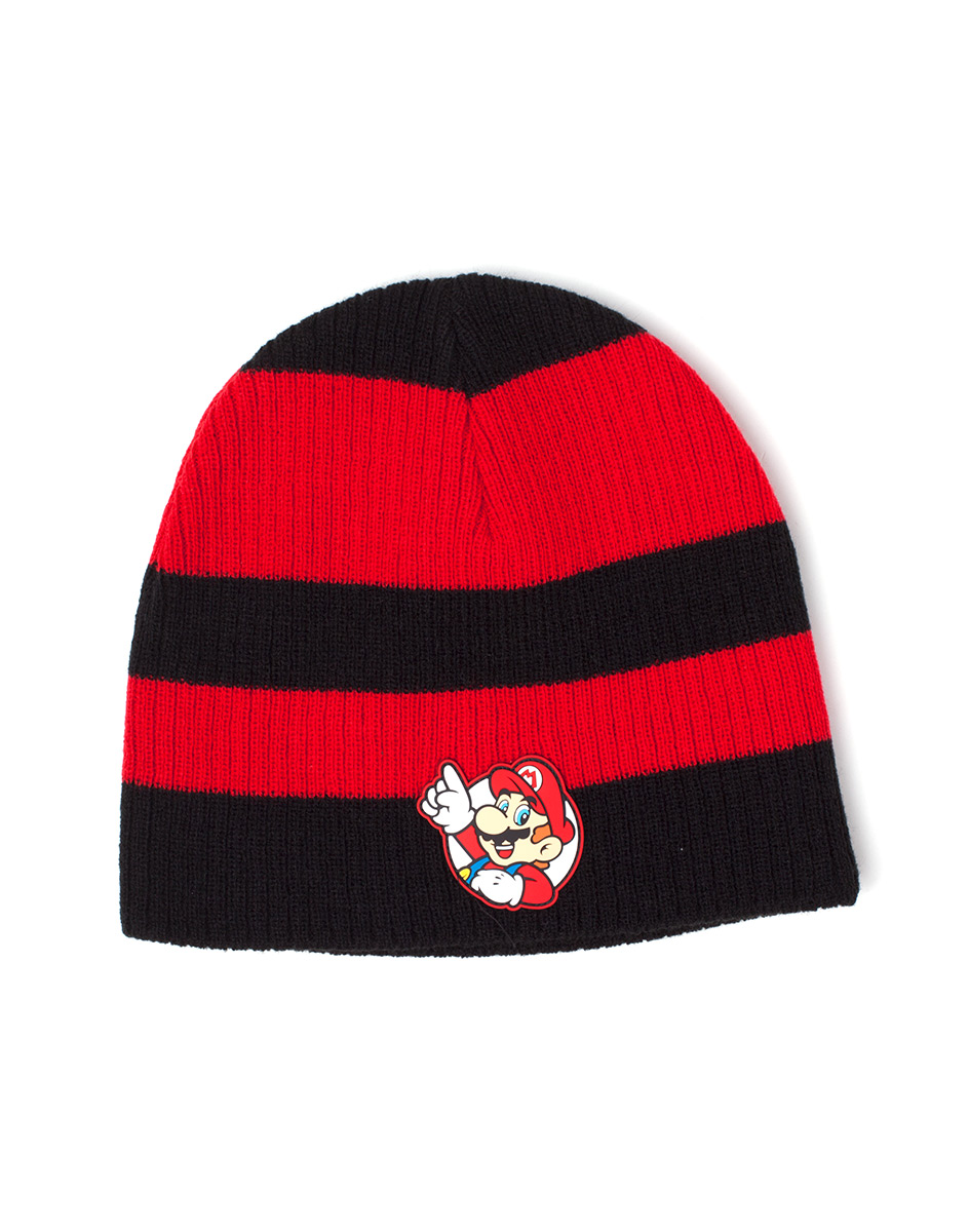 Čepice Nintendo - Mario Striped Beanie (PC)
