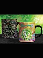Hrnek Rick and Morty - Portals Heat Change