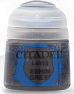 Citadel Base Paint - základní barva, šedá (Eshin Grey)