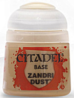 Citadel Base Paint (Zandri Dust) - základní barva, prach