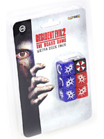 Desková hra Resident Evil 2 - Sada kostek