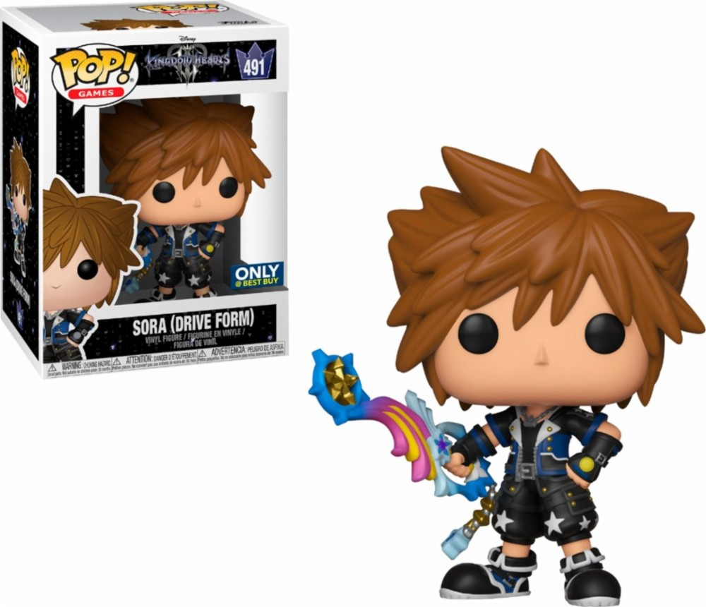 Figurka Kingdom Hearts III - Sora Drive Form (Funko POP! Games 491) (PC)