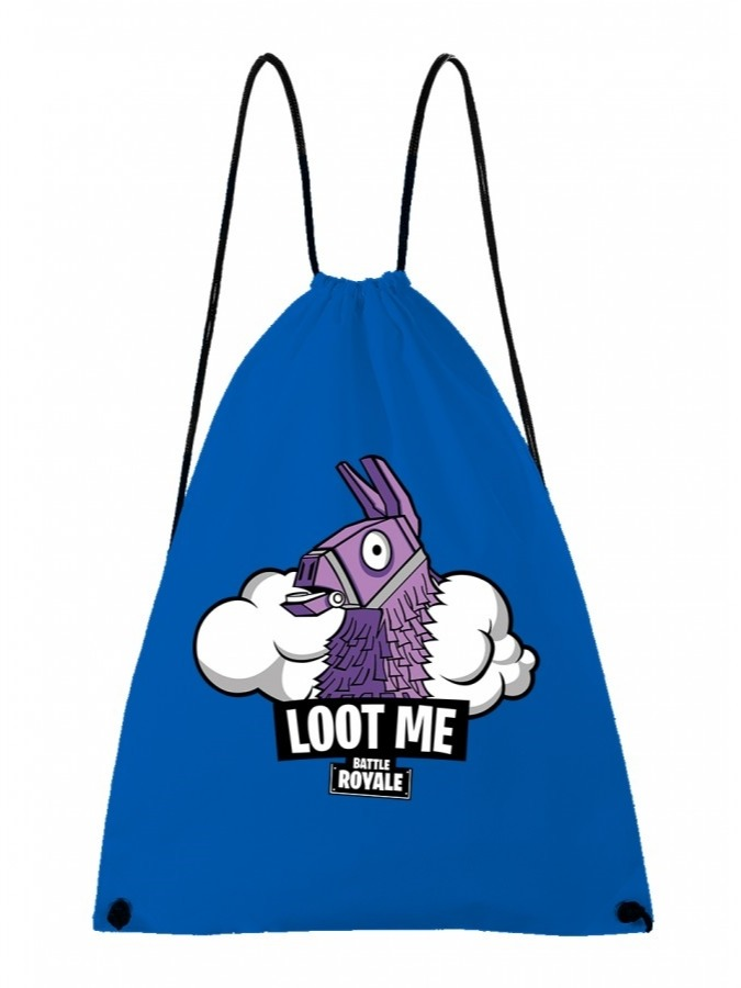 Vak na záda Fortnite - Loot Me (modrý) (PC)