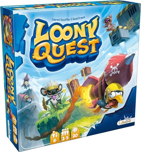 Desková hra Loony Quest (PC)