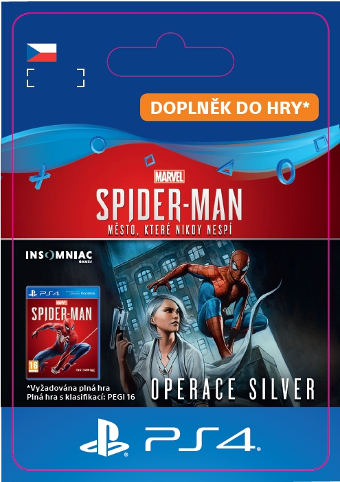 Marvel's Spider-Man: Silver Lining (PS4 DIGITAL)