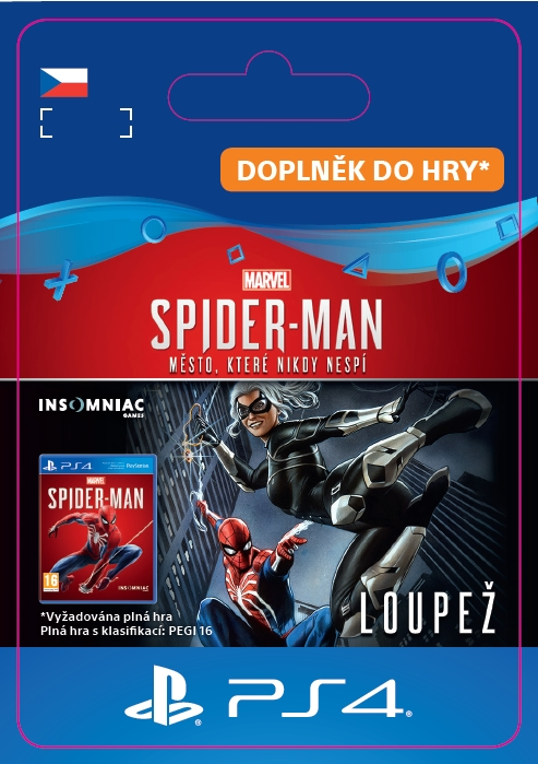 Marvel's Spider-Man: The Heist (PS4 DIGITAL)