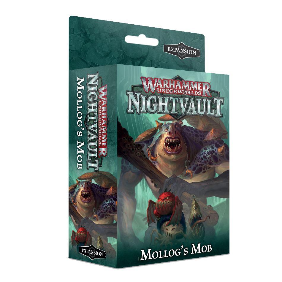 Desková hra Warhammer Underworlds: Nightvault – Mollogs Mob (rozšíření) (PC)