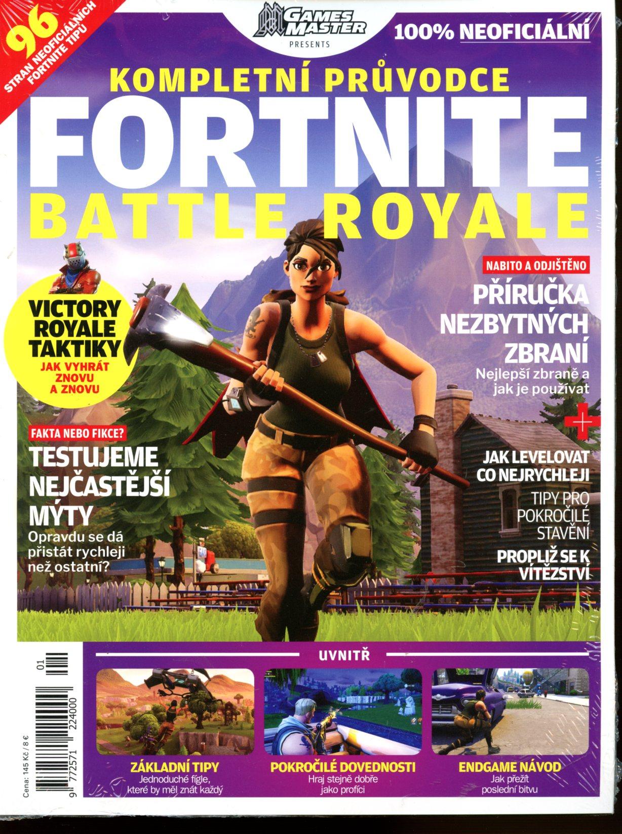 Časopis Kompletní průvodce Fortnite: Battle Royale 1/2019 (PC)