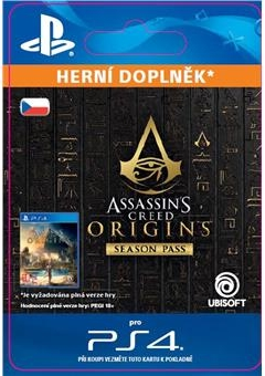 Assassins Creed: Origins - Season Pass (PS4 DIGITAL)
