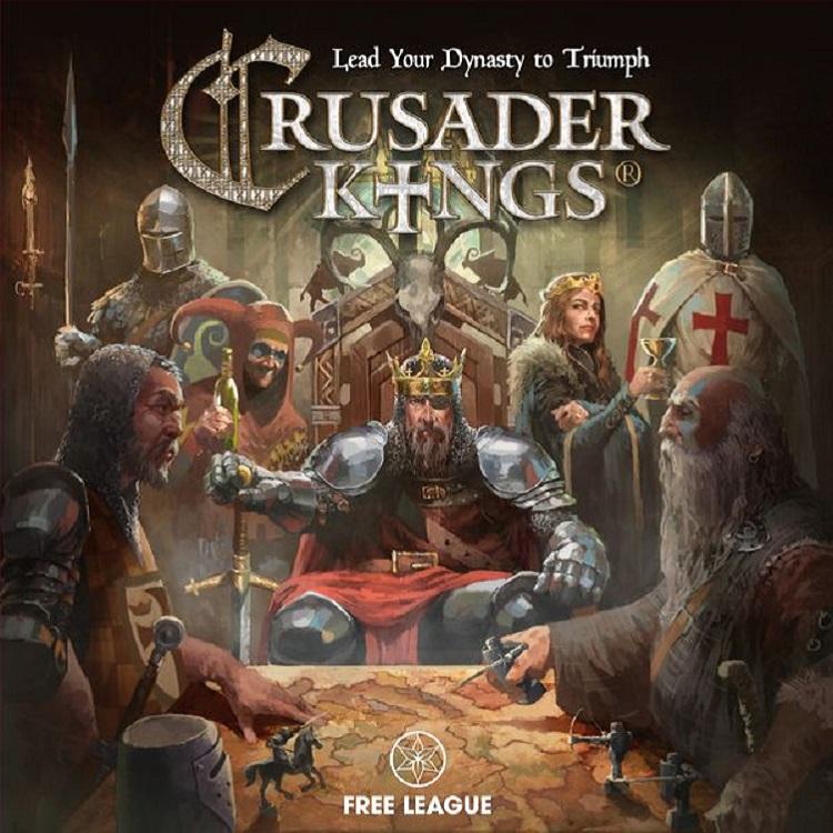 Desková hra Crusader Kings (PC)