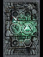 Desková hra Warhammer Underworlds: Forbidden Chambers (herní deska)