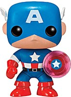 Figurka Marvel - Captain America Photon Shield 75th Anniversary Limited (Funko POP!)