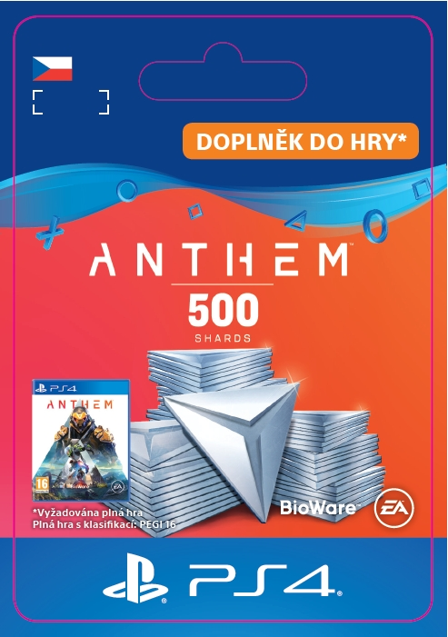 Anthem™ 500 Shards Pack (PS4 DIGITAL)