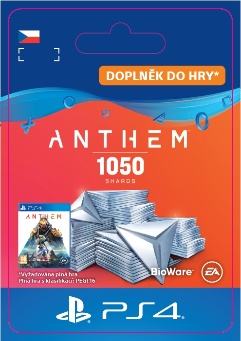 Anthem™ 1050 Shards Pack (PS4 DIGITAL)
