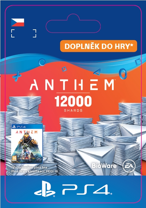 Anthem™ 12000 Shards Pack (PS4 DIGITAL)