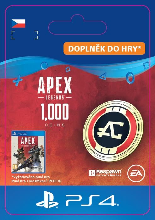 Apex Legends - 1,000 Apex Coins (PS4 DIGITAL) (PS4)