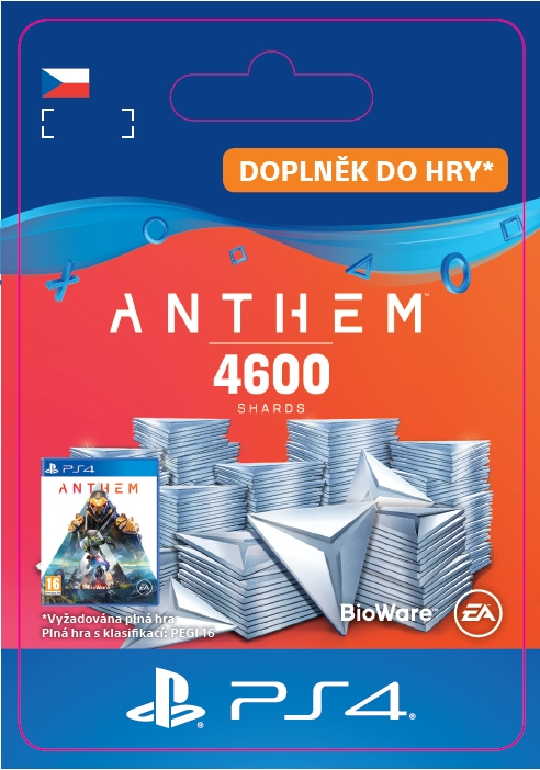 Anthem - 4600 Shards Pack (PS4 DIGITAL)