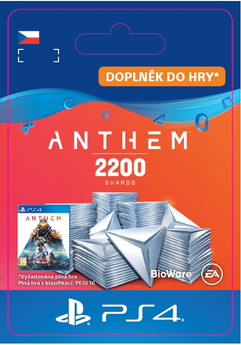 Anthem - 2200 Shards Pack (PS4 DIGITAL)