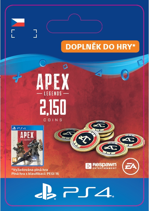 Apex Legends - 2,000+150 Bonus Apex Coins (PS4 DIGITAL)