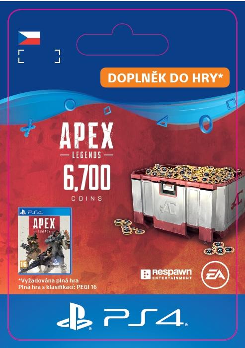 Apex Legends - 6,000+700 Bonus Apex Coins (PS4 DIGITAL) (PS4)