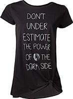 Tričko dámské Star Wars - Dont Underestimate the Dark Side (velikost M) (PC)