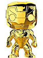 Figurka Marvel - Iron Man (chrome) (Funko POP!)