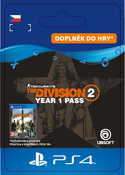 The Division 2 - Year 1 Pass (PS4 DIGITAL)