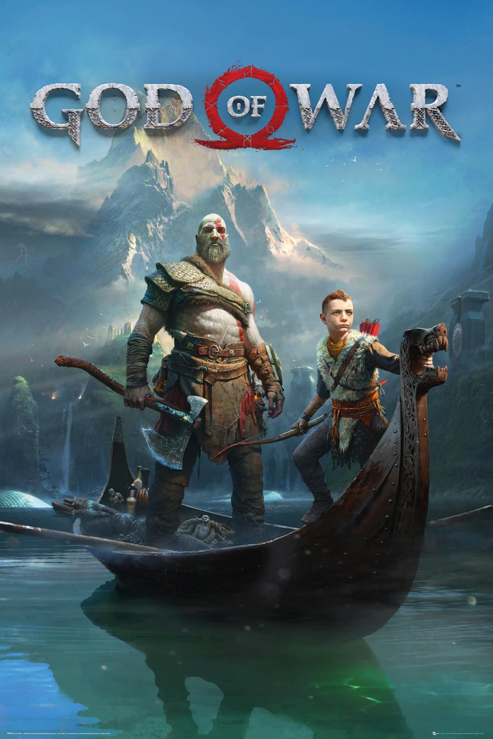 Plakát God of War - Key Art (PC)