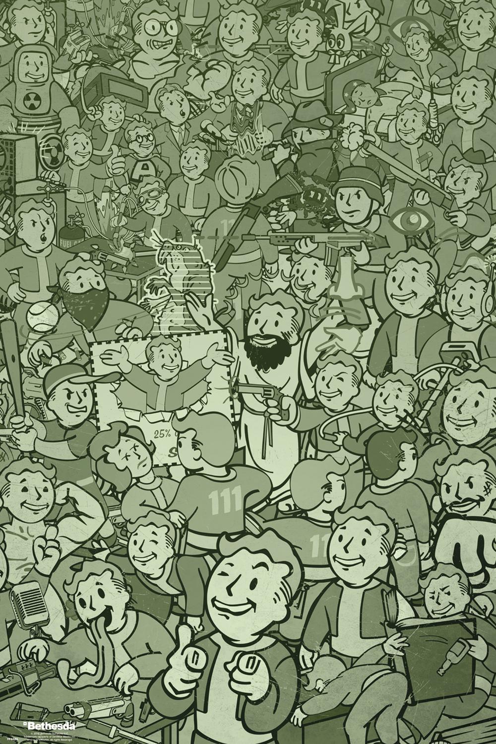 Plakát Fallout - Compilation (PC)