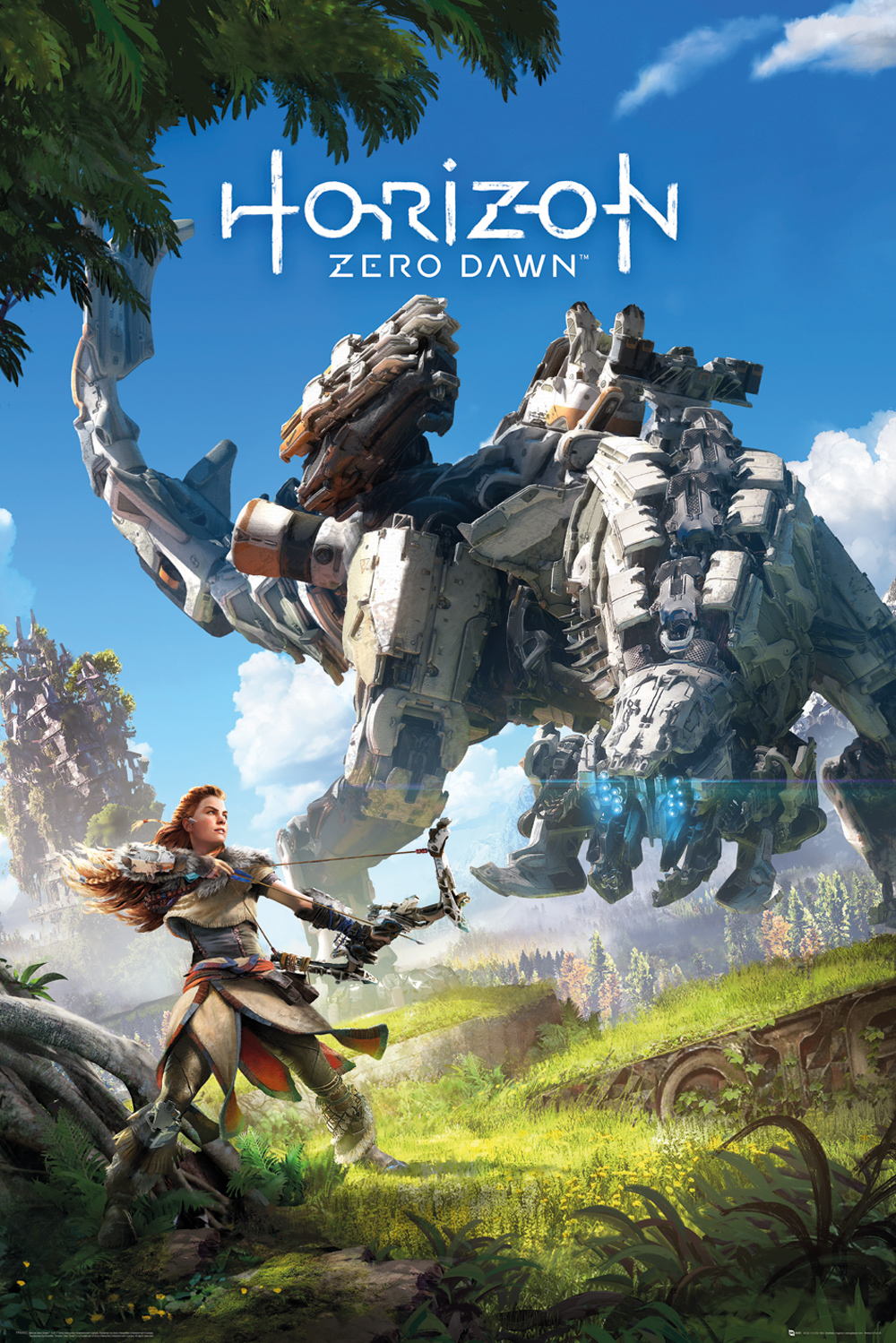 Plakát Horizon: Zero Dawn - Key Art (PC)