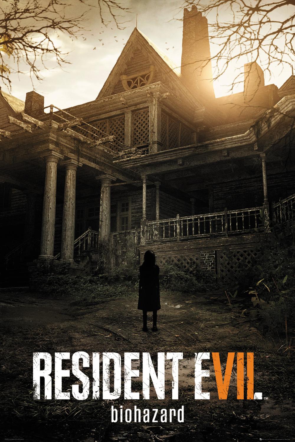 Plakát Resident Evil 7 - Key Art (PC)