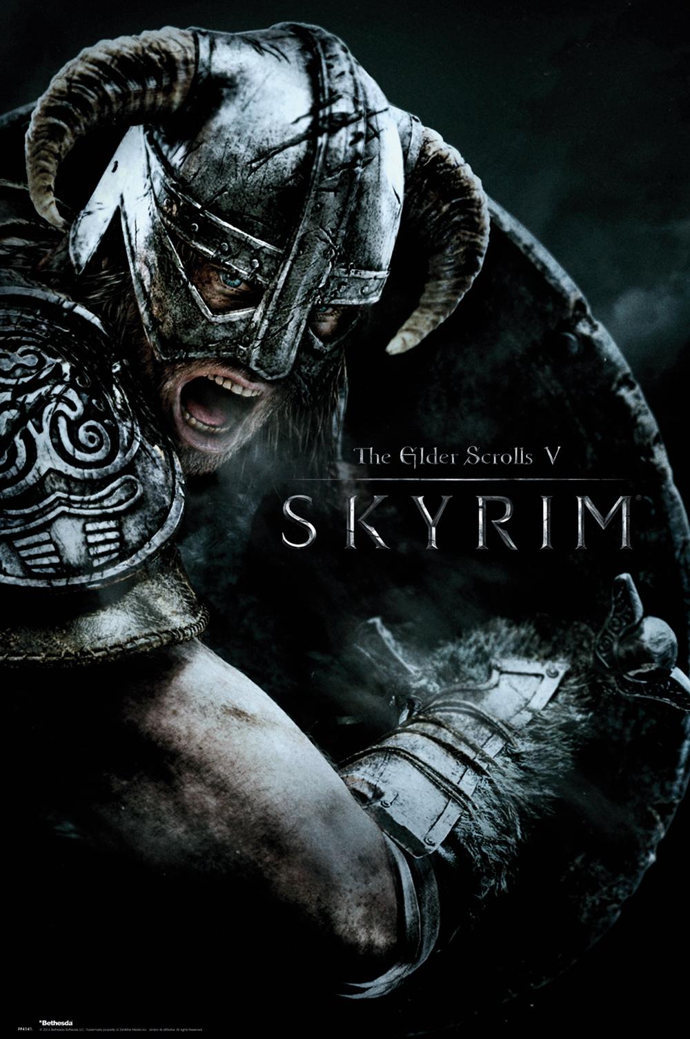 Plakát Skyrim - Attack (PC)
