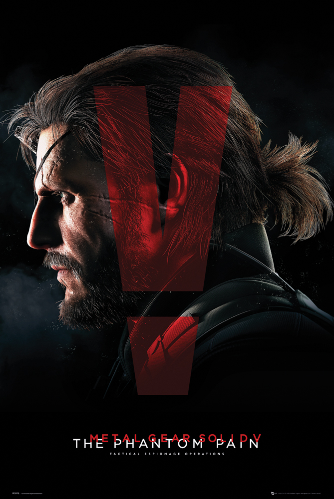 Plakát Metal Gear Solid V - Cover (PC)