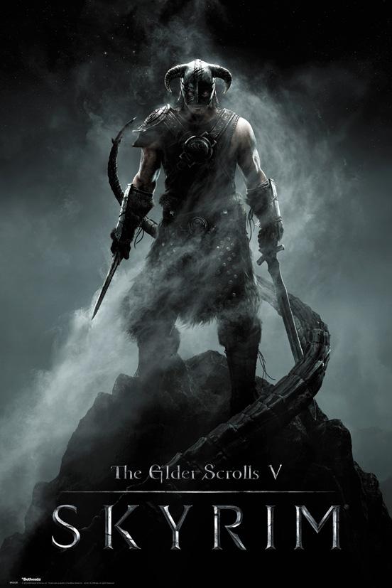 Plakát Skyrim - Dragonborn (PC)